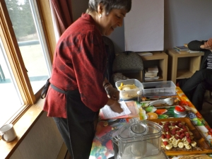 (4) ROSE VASILE - Raw Food workshop
